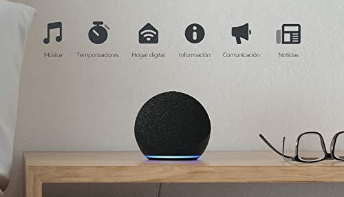 Echo Dot (4.ª generación) | Altavoz inteligente con Alexa | Antracita