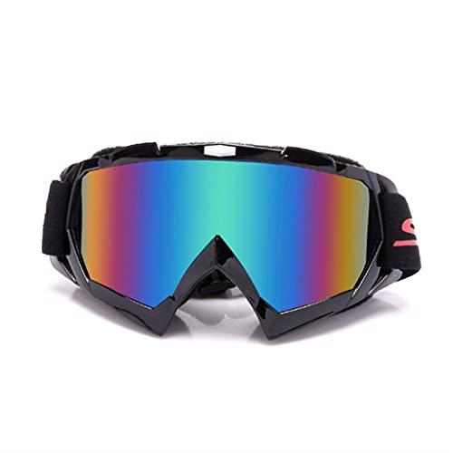 ZYNS Gafas de protección Gafas Multicolor Off-Road Motocicleta Gafas De Motocicletas Gafas Motocicletas Gafas Al Aire Libre Racing Ski
