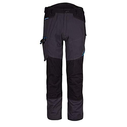 Portwest Pantalón de Servicio WX3, Longitud Regular, Metal Gris, tamaño: 36, T701MGR36