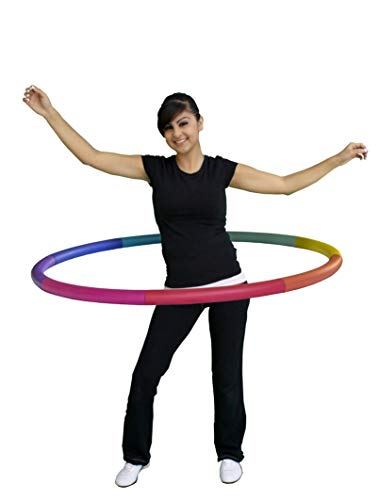Sports Hoop Weighted Hoop for Exercise: Trim Hoop 2MS  2lb Dia37 Medium Comfortable Workout Weight Loss Reduce Waist Size Fast Tone Upper Body Fitness Equipment 2nd Gen