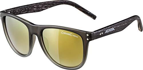 ALPINA RANOM Sportbrille, Unisex– Erwachsene, grey gradient matt, one size