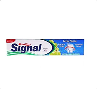 Signal Cavity Fighter Toothpaste with Fresh Apple Flavor - 120 ml