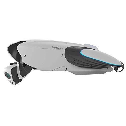XIAOKEKE Überwasser- Und Unterwasserdrohne, Bildübertragung Bis Zu 800M, 220 ° 4K-Doppelgelenkkamera, 2 Stunden Akkulaufzeit, Höchstgeschwindigkeit Von 4,5M / S - Weiß