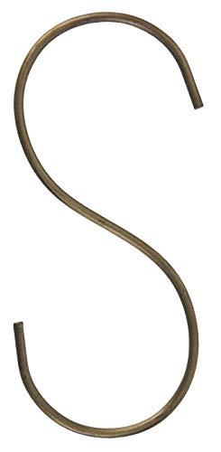 IB Laursen S Haken 5er Set vielseitig einsetzbar Metall H10 cm 57001-17 Wandhaken Aufhängung