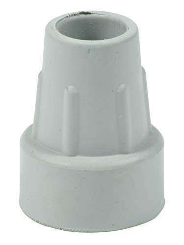 Lifeswonderful® - 10 Stück Strapazierfähige Gummifuß 18/19mm für Krücken Gehstöcke