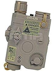 H World Navy Navy Seal PEQ-15 LA-5 Caja de batería simulada para táctico Airsoft AEG Airsoft Display DE