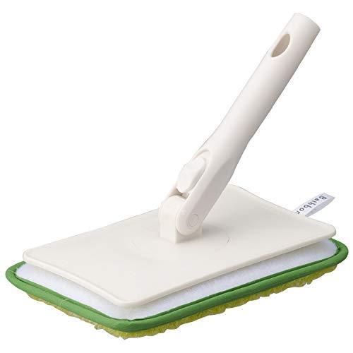 山崎産業 お風呂掃除 バス壁天井 ブラシ ハンディ ユニットバスボンくん グリーン 157921