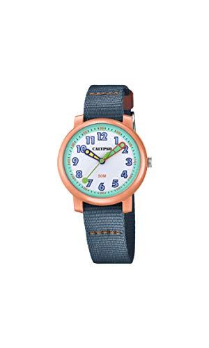 Calypso Reloj Analógico para Niñas de Cuarzo con Correa en Nailon K5811/2