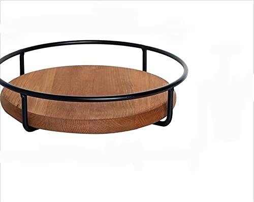 Creativo retro multifuncional postre bastidor de doble torta conjunto de mesa de mesa accesorios de almacenamiento de escritorio de viento nórdico Tiempo dulce para la fiesta de té de la tarde