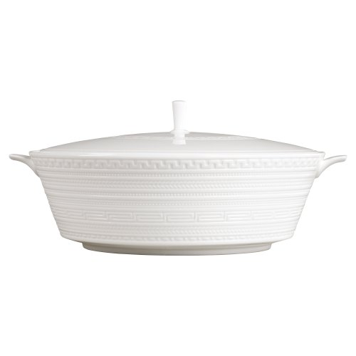 Wedgwood Intaglio 10-1/2-Inch Covered Vegetable Bowl