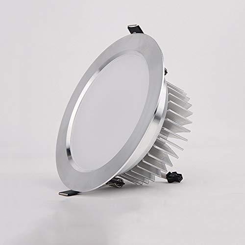 Modenny Weiße/warme weiße LED-Decke unten helle Kabinett-Beleuchtung vertiefte Lampe energiesparende Birne-hohe Leistung Deckenverkleidungs-Lampe Ultra helle Büro-Wohnzimmer-Dekoration mit Fahrer