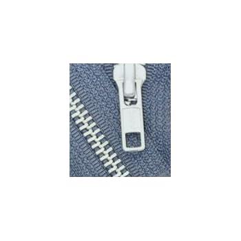 YKK #5 Aluminum Metal ~ Medium Weight ~ Separating ~ 579 Dark Grey 1 Zipper//pack 34\ Jacket Zipper