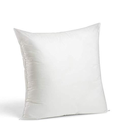 LILENO HOME 6er Set Kissenfüllung 40x40 cm - waschbares Innenkissen geeignet für Allergiker - Polyester Kisseninlet als Couchkissen, Sofa Kissen, Cocktailkissen und Kopfkissen