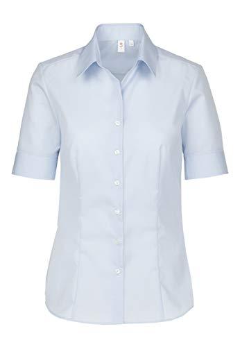 Seidensticker Damen Bluse , Blau (12), 42