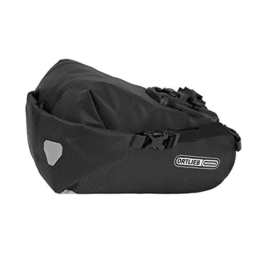 Ortlieb Saddle-Bag Two Bike, unisex, nero, opaco, taglia unica