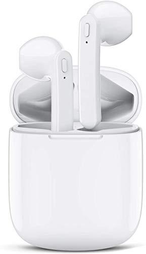 Auriculares Bluetooth con Micrófonos True Wireless Earbuds Impermeable Auriculares Inalámbricos Bluetooth 5.0 QCY HiFi Mini Twins Estéreo In-Ear Bluetooth con Caja de Carga Portátil