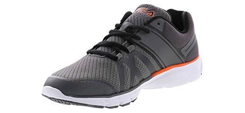 Fila Memory Approach 4 Wide-Width Running Shoe Grey in Size...