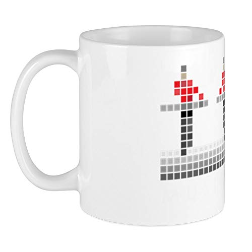 CafePress PIXEL8 Kraftwerk Mug, Choice of Colors