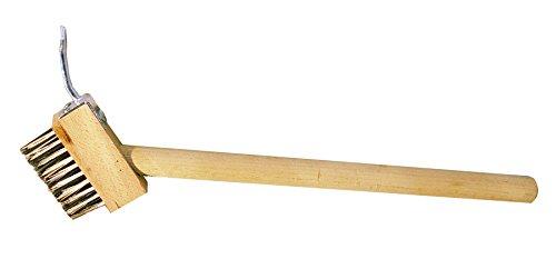 Bon 21-168 Brosse spéciale pour nettoyer les joints de pavé avec manche de 40,6 cm