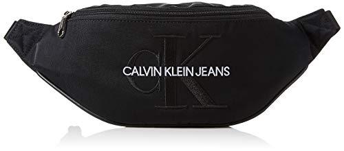 Calvin Klein Herren Monogram Nylon Street Pack Taschenorganizer, Schwarz (Black), 1x1x1 cm