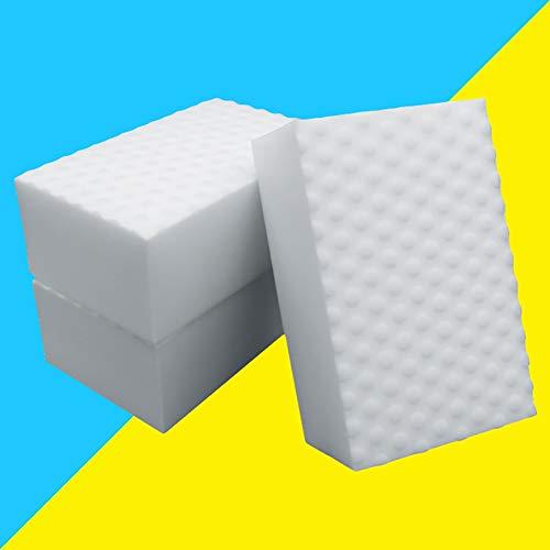 NAWXC Esponjas Mágicas De Limpieza, Esponja De Limpieza Comprimida 2 Veces, Almohadilla Esponja Quita Manchas Para Cocina/sofas/Paredes, 10 * 7 * 3 Cm, 10 Unidades