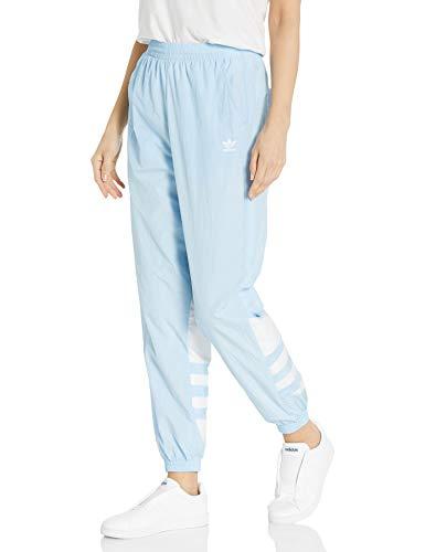 adidas Originals Pantalones de chándal con logo grande para mujer - Azul - Large