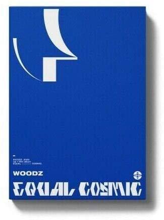 X1 WOODZ EQUAL 1st Mini Album COSMIC VER CD+POSTER+Fotobuch+12 Karte+10 Sticker+Pre-OrderTRACKING CODE K-POP SEALED