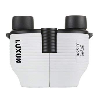 DyNamic 10X25 Verrekijker Telescoop Mini Travel Handheld Monoculair Hd Bak4 Lens Autofocus - Wit