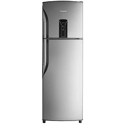 Refrigerador Panasonic NR-BT40BD1X Frost-Free 387L Aço Escovado Refrigerador Panasonic Regeneration 220v