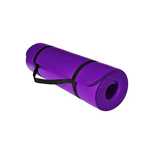 Tappetino da yoga Fitness Mat for |Yoga Mat NBR Eco Friendly Non Slip 183 centimetri * 61 centimetri * 1cmwith Una cinghia di trasporto for forma fisica di yoga di esercitazione di Pilates tappetino y