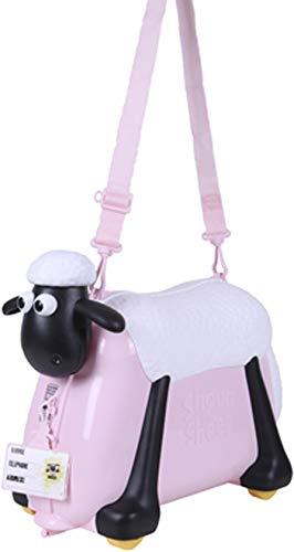 Shaun das Schaf Kinderkoffer (Rosa) - 4