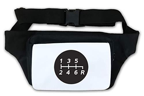 Manual Transmission 6 Speed Gearbox Stick Shift Waist Bag