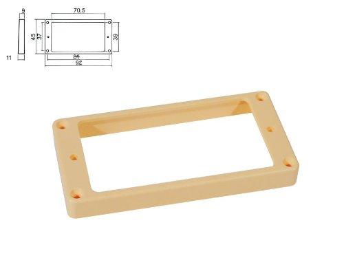 Humbucker-Rahmen in creme hoch/für gewölbte Decke