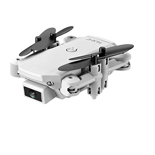 HTYG Faltbare RC Mini Drohne HD Kamera FPV Live Video-mit 4k Kamera-RC Quadcopter WiFi FPV Flugdrohne Für Kinder Und Anfänger (Weiß: 4K)