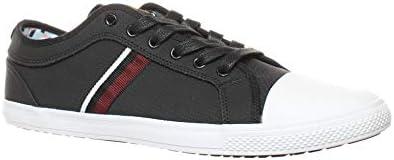 Ben Sherman Mens Madison Ox Black Fashion Sneaker Size 9 product image