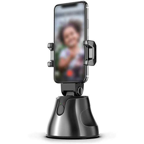 YSGE 360 rotación Smart AI Gimbal Robot Personal Camarógrafo con Modo de Inicio Deportivo Seguimiento de Objetos faciales Movimiento Lapso de Tiempo para Vlog Grabación de Video en Vivo