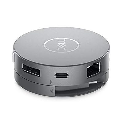 Dell DA310 Wired USB 3.2 Gen 2 (3.1 Gen 2) Type-C Silver
