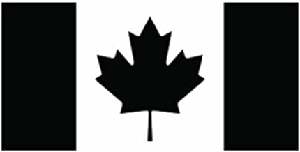 Canada Flag Sticker Canadian Vinyl Decal Car Truck Door Emblem 2x Maple Leaf