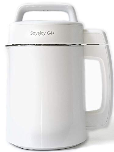 SoyaJoy G4+ Soy Milk Maker and Soup Maker with all Stainless Steel Inside New Model