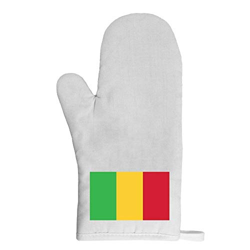Mygoodprice Ofenhandschuh Topflappen Flagge Mali