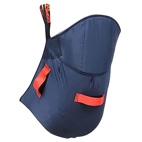 Imbracatura per wc Sollevatore ausiliario per il paziente Imbracatura per il paziente per alzarsi, alzarsi, sedersi e un'imbracatura ausiliaria per l'utilizzo del wc aiuta il paziente ad alzarsi