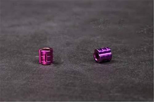 EKimmer 1PC G Titanium Alloy Knife Beads Paracord Beads Knife Lanyard Umbrella Rope Knife Beads Purple