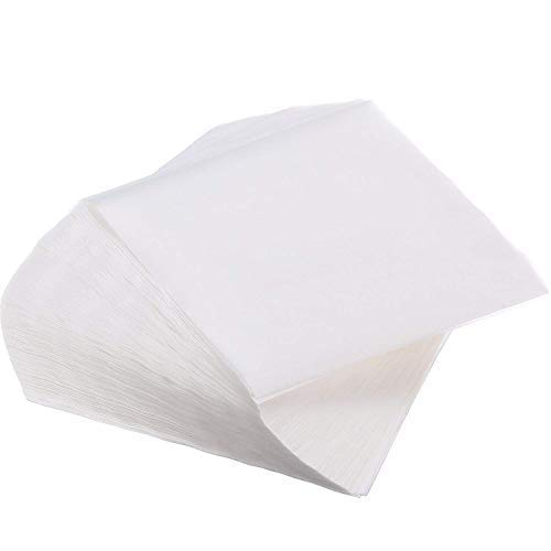 Belmalia ► 500 Blatt ◄ Eckiges Burgerpapier Backpapier Patty Paper für Hamburger, Frikadellen, Patties, Presse, Grill, Antihaftbeschichtet, 14 x 14 cm