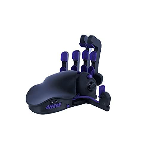 Azeron Classic Gaming Keypad – Programmeerbaar Gaming Toetsenbord voor PC Gaming – 3D gedrukt Aangepast Toetsenbord met Analoge Ministick en 26 Programmeerbare Sleutels voor Linker (Galaxy Purple)