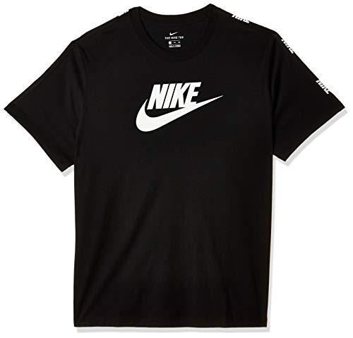 Nike Herren HYBRID T-Shirt, Black, L