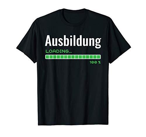 Ausbildung fertig Geselle Azubi Ladebalken Geschenk T-Shirt