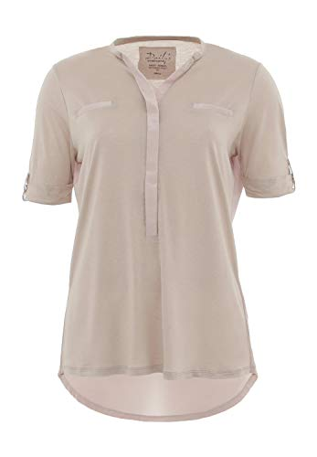 DAILY`S NOTHING`S BETTER BY S. W. B. Jacky: Blusenshirt 1/2 Arm, Size:XL, Color:Sand