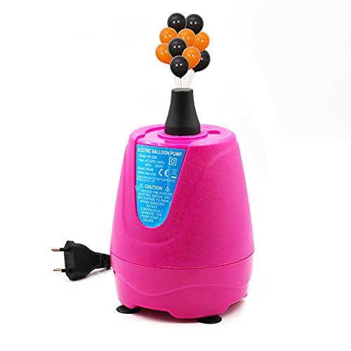 Bomba de globo de aire eléctrica 220V 300W Inflador de globo portátil...