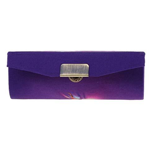 DYB Art Und Weise Dekorative Lippenstift Box Make-up Halter Mit Spiegel Brieftasche Make-up Aufbewahrungsbox Geschenk Stempel Box Spiegel Spiegel (Size : Button)
