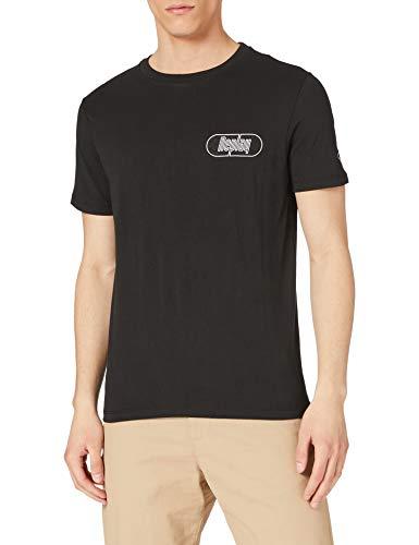 REPLAY M3386 Camiseta, Negro (098 Black), L para Hombre